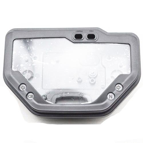 Black Motorcycle Speedo Meter Gauge Tachometer Clock Case Cover for 2003 2006 Honda CBR 600 RR