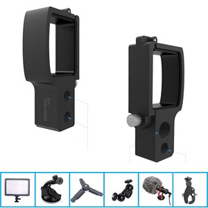 Image 5 - Phone Mount Module Extension Pole Rod Selfie Stick for DJI OSMO Pocket/Pocket 2 Gimbal Cable for Type c IOS Android Accessory