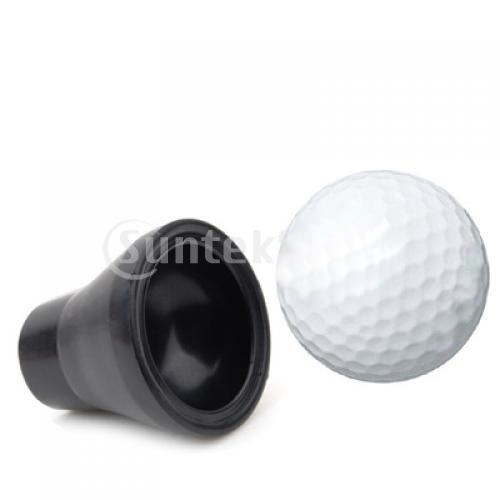 Image 2 - Golf Ball Retriever Sucker Grabber Suction Cup Pick Up Back Saver Put On Putter Grip-in Golf Training Aids from Sports & Entertainment