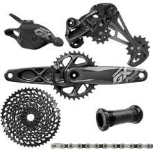 цены SRAM GX EAGLE 1x12s 10-50T speed Groupset Kit DUB 170 Trigger Shifter Rear Derailleur Cassette Chain Crankset