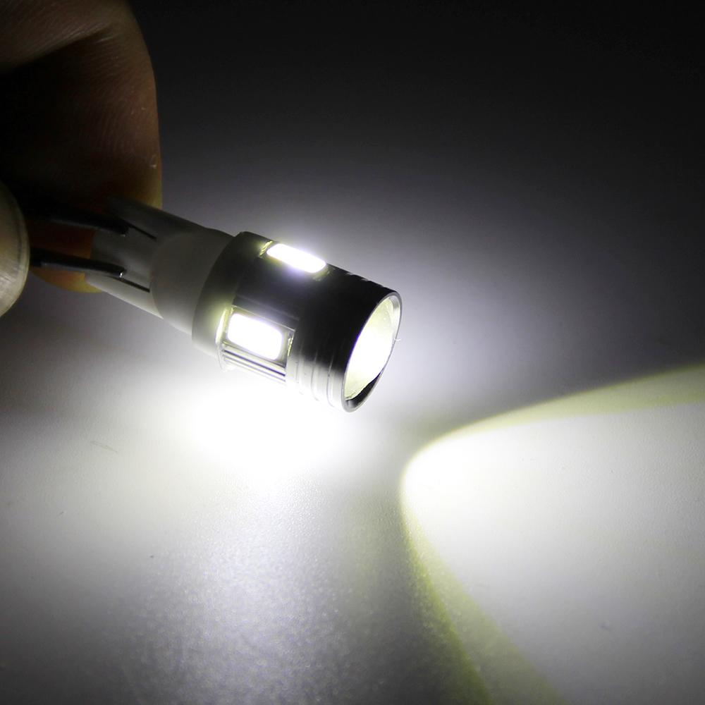 10 шт. Т10 W5W и освещение 6 Сид SMD 5630 светодиодная лампа 194 168 12 В постоянного тока в авто лампу для тюнинг автомобилей