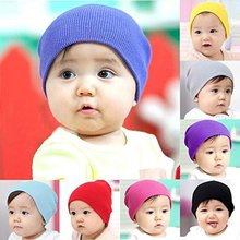 Baby Beanie Boy Girls Soft Hat Children Winter Warm Kids Cap unisex