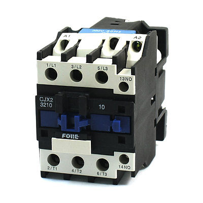 CJX2-3210 General Purpose 3 Phase 380V Coil 50A 1NO AC Contactor sayoon dc 12v contactor czwt150a contactor with switching phase small volume large load capacity long service life