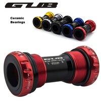 GUB C68 Ceramic Bottom bracket Shell 68/73MM Screw/Thread Type BSA Crankset Bearings Bicycle Axis for SHIMANO FSA
