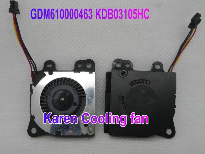 NEW ORIGINAL DELTA GDM610000463 KDB03105HC 5V 0.45A  3CM 3*3*0.5CM 30*30*5MM 3005 small blower 5V 0.45A cooling fan original delta tfc1212de 12cm 12038 12v 3 9a 252cfm winds of booster pwm fan violence for bitcoin miner super cooling