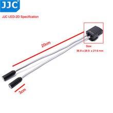 JJC – lampe Macro LED Flexible pour appareil photo, Flash pour Canon 60D 5D Mark II 5D Mark III 760D 750D Sony Nikon DSLR