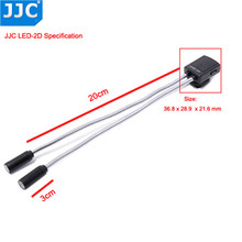 Jjcカメラライト柔軟なマクロledランプフラッシュライトスピードライト 60D 5Dマークii 5Dマークiii 760D 750D一眼レフ