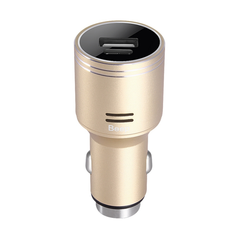 Metal Aluminum Carbon Monoxide Alarm Safety Hammer Car Fast Charge Car Charger