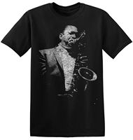 Футболка John Coltrane Jazz женские мужские M L XL 3XL графический принт полоса тройник 4-A-036 новая брендовая одежда футболки Топ тройник