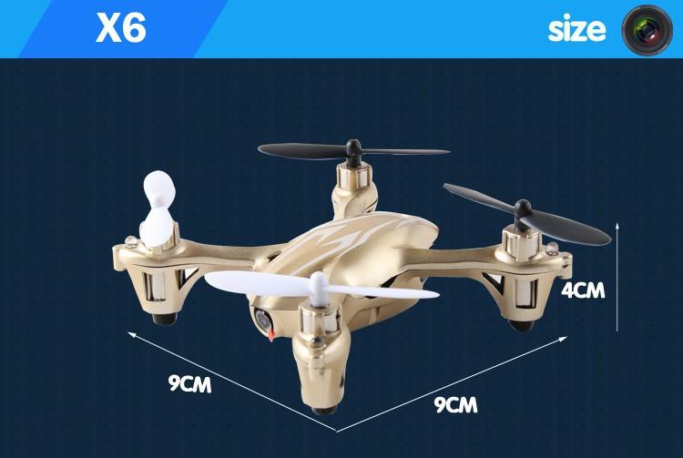 X6 size