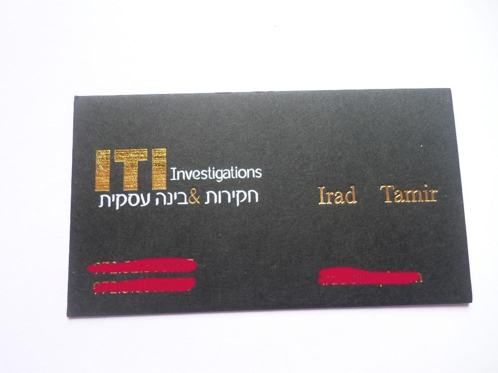 Letterpress business card,custom busines
