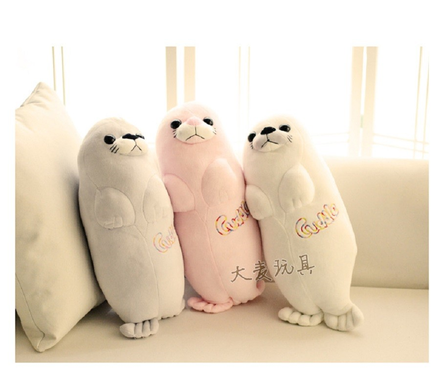 3pcsset 40cm  Aquarium Sea lions plush toy doll doll Children\'s Day gift to send his girlfriend a birthday gift free shipping (1)
