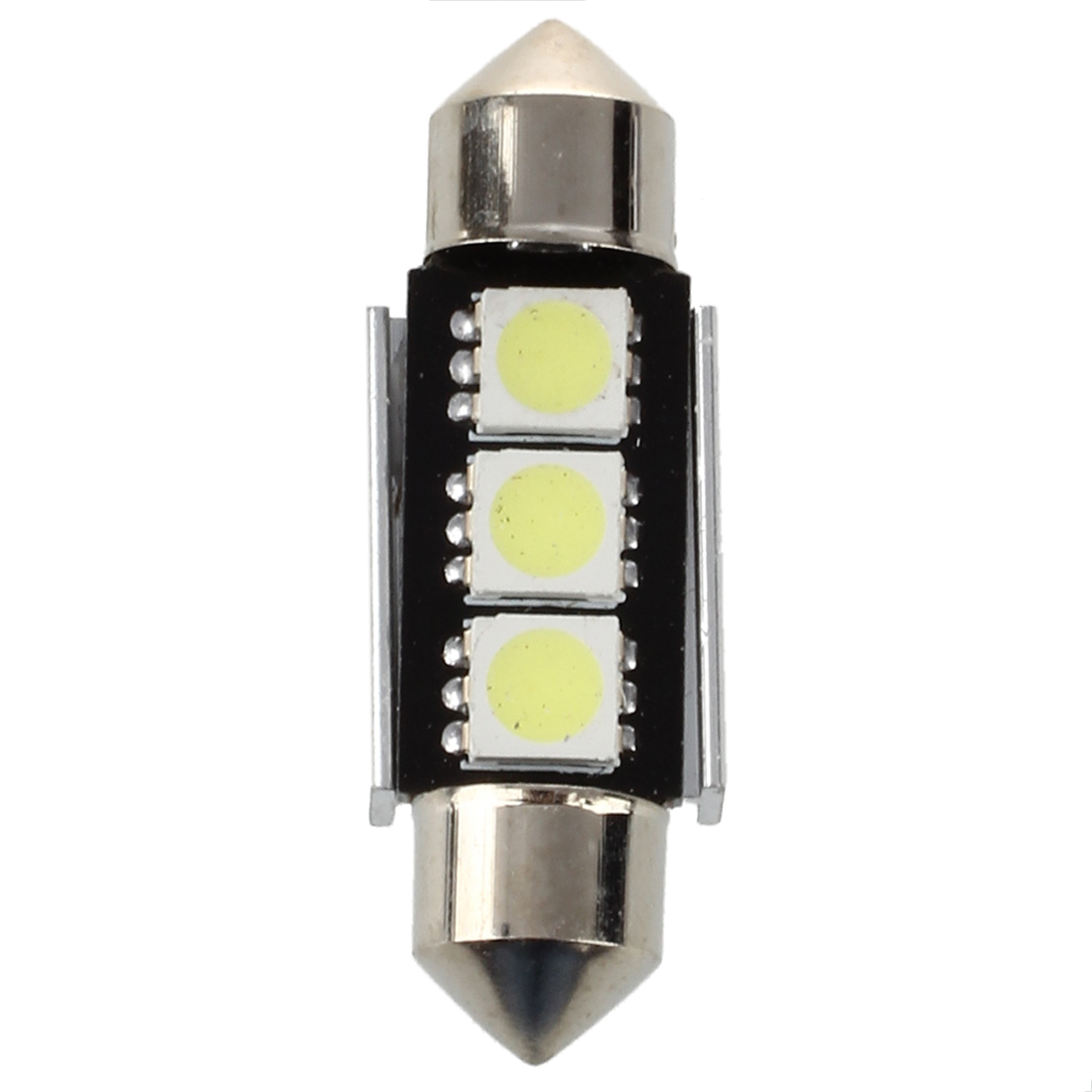2X 36mm CANBUS Error Free 3 5050SMD LEDs 6418 License Plate Dome Bright Light