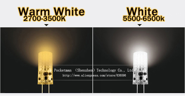 G4 LED 12V AC DC 3W 6W Dimmable LED Lamp G4 24/48leds 3014 SMD Bulb Lamp Ultra Bright Free Shipping