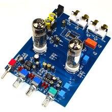 Bluetooth 4.2 Hifi 6J5 Tube Amplifiers Audio Board JRC5532 Preamplifier Tone Board with Volume Adjustment 6n4 3 6z4 1 tube preamplifier board reference to marantz 7 circuit