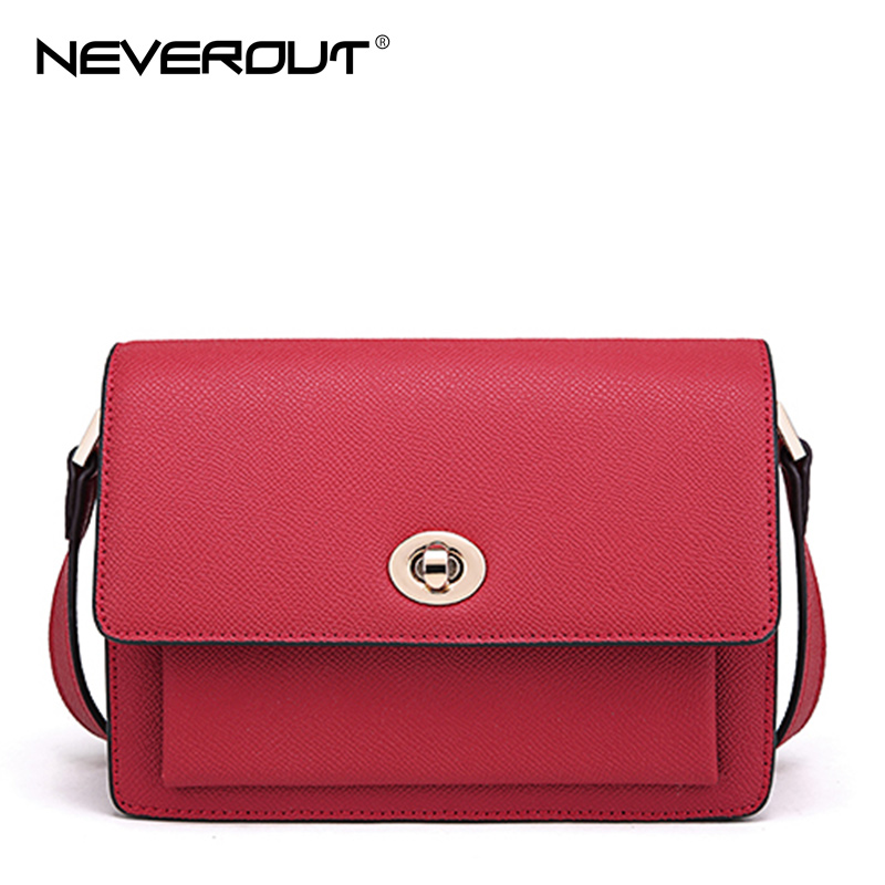 NeverOut Women Split Leather Bags Solid Small Mini Shoulder Crossbody Messenger Bags Casual Fashion Flap Cover Bag Sac for Girls 2017 summer metal ring women s messenger bags solid scrub leather women shoulder bag small flap bag casual girl crossbody bags