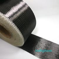 Carbon Fiber UD fabric 12K Toray T700 300gsm 80M * 4/10cm Uni directional Cloth Fabric Tap wide High strength Repair material