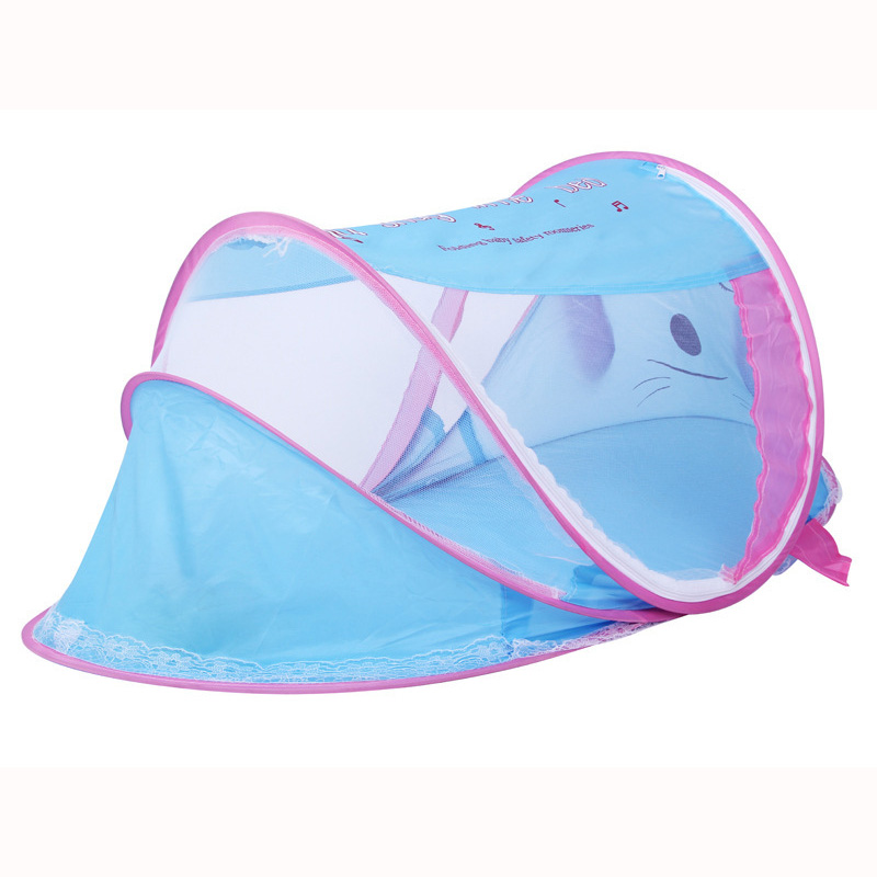 Top Quality Babys Mosquito Net Foldable Travel Mosquito Netting for Baby Crib childrens Bedding Protection Fabric Waterproof