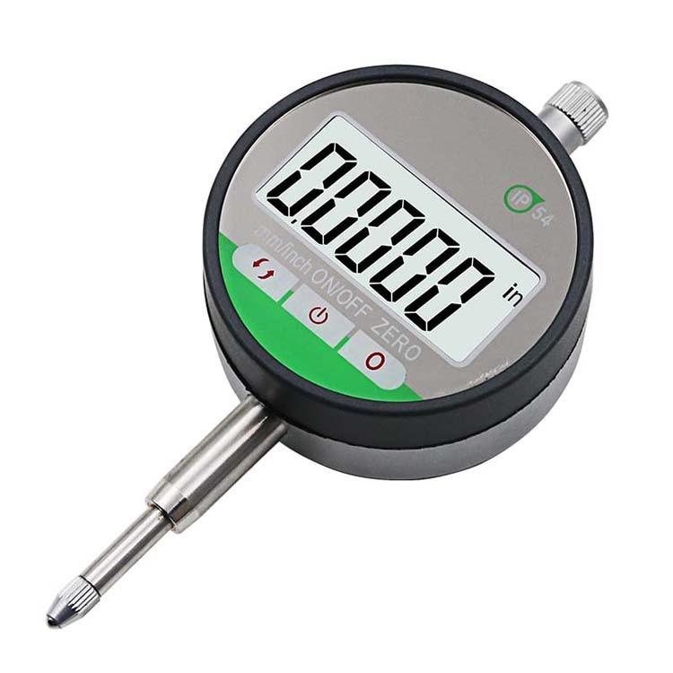 """IP54 маслостойкий цифровой микрометр 0,001 мм Электронный микрометр метрический/дюйм 0-12,7 мм/0,"""" точный циферблат индикатор с"""