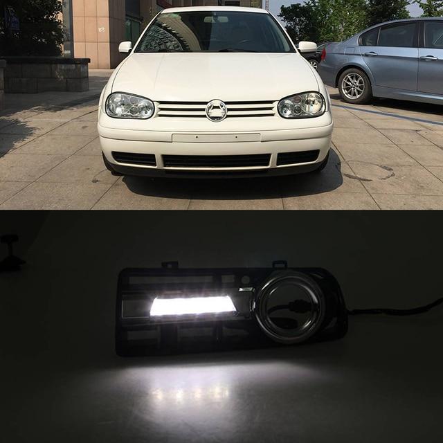 Car Flashing Car Led Daytime Running Lights For Volkswagen Vw Golf 4