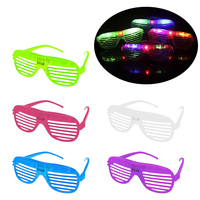 10pcs Flashing Party LED Light Glasses For Christmas Birthday Halloween Party Decoration Supplies Glow Glasses Hot