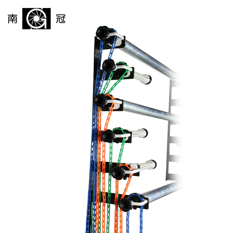 Manual Control background support elevator NG-6W Manual six axle background lifting support electric background support CD50