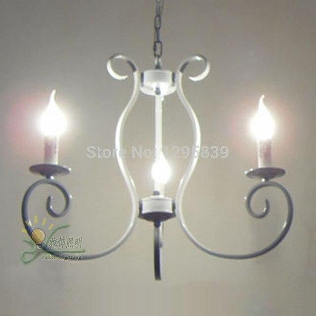 Mehrere Kronleuchter Eisen Kerze Mediterranes Restaurant Amerikanischen Land Wohnzimmer Lampe Antike Vintag ZX47