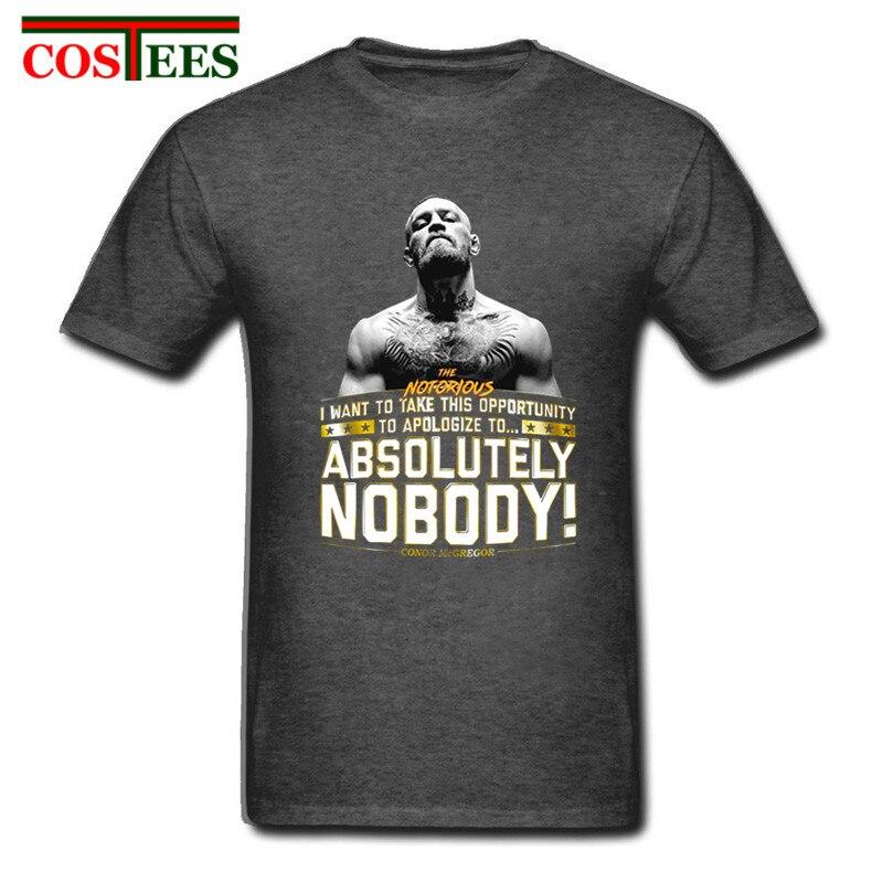 Men Summer Conor Mcgregor T-shirt Ufc Colonel Harland Sanders Creative Design Printed Short Sleeve Tshirt Men Tees Funny T-shirt Consumers First