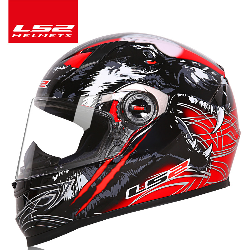 D'origine LS2 FF358 moto rcycle casque intégral LS2 alex barros casque racing moto casques Casque Casco moto ECE Certification