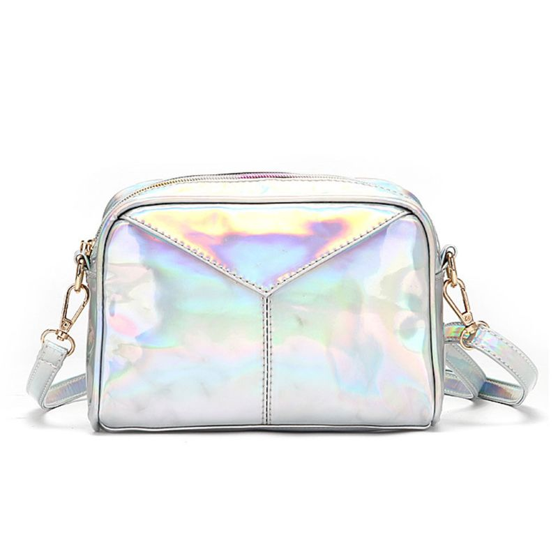 WoMan Shoulder Bags Leather Holographic Evening Handbags Hobo Messenger Crossbody Bag