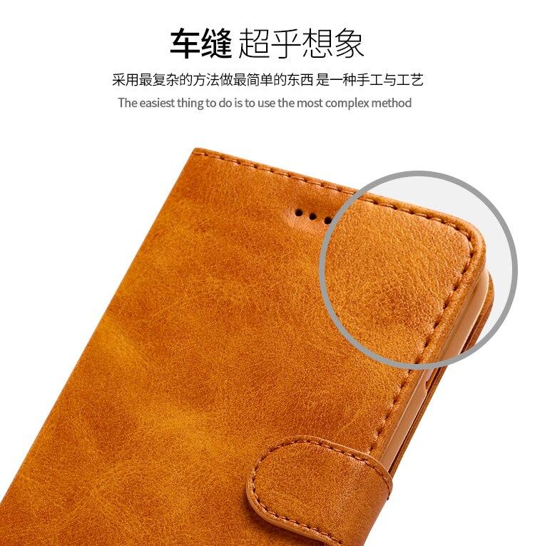 Retro Fundas Leather Case for iPhone 11/11 Pro/11 Pro Max 8