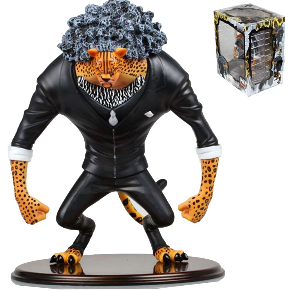 One Piece Anime Portrait of Pirates Mas Rob Rucchi 23cm/9 Figure Free Shipping one piece anime dx pirates shiryu shiliew of the rain 22cm 8 7 figure free shipping