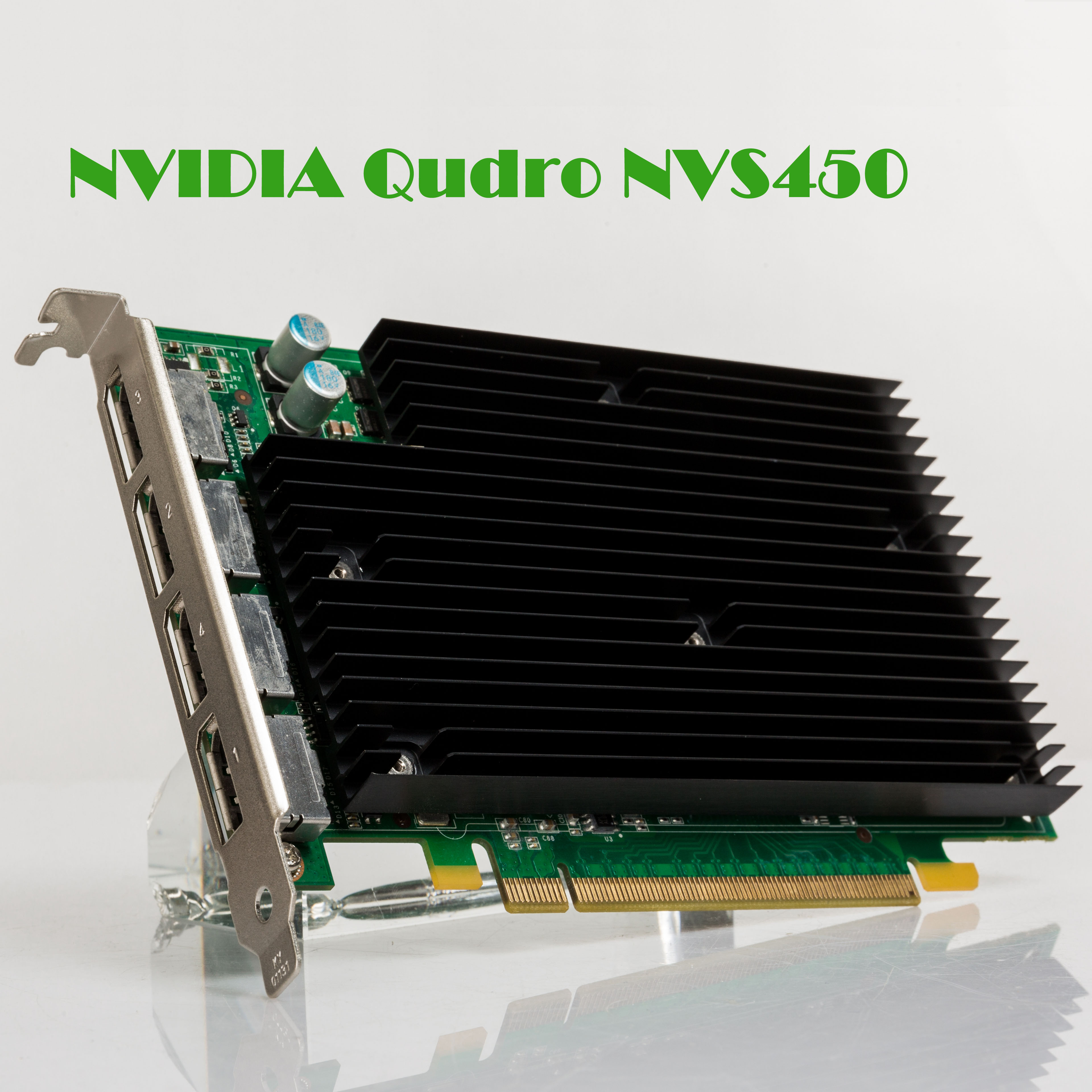 Used 90%new NVS450 Y413P N217R 4-screen Graphics Card Warranty 1 Year Used-Like New