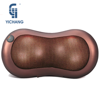 Electric car massage pillow massager neck kneading neck shoulder massagers with heat back tools for full body massages roller