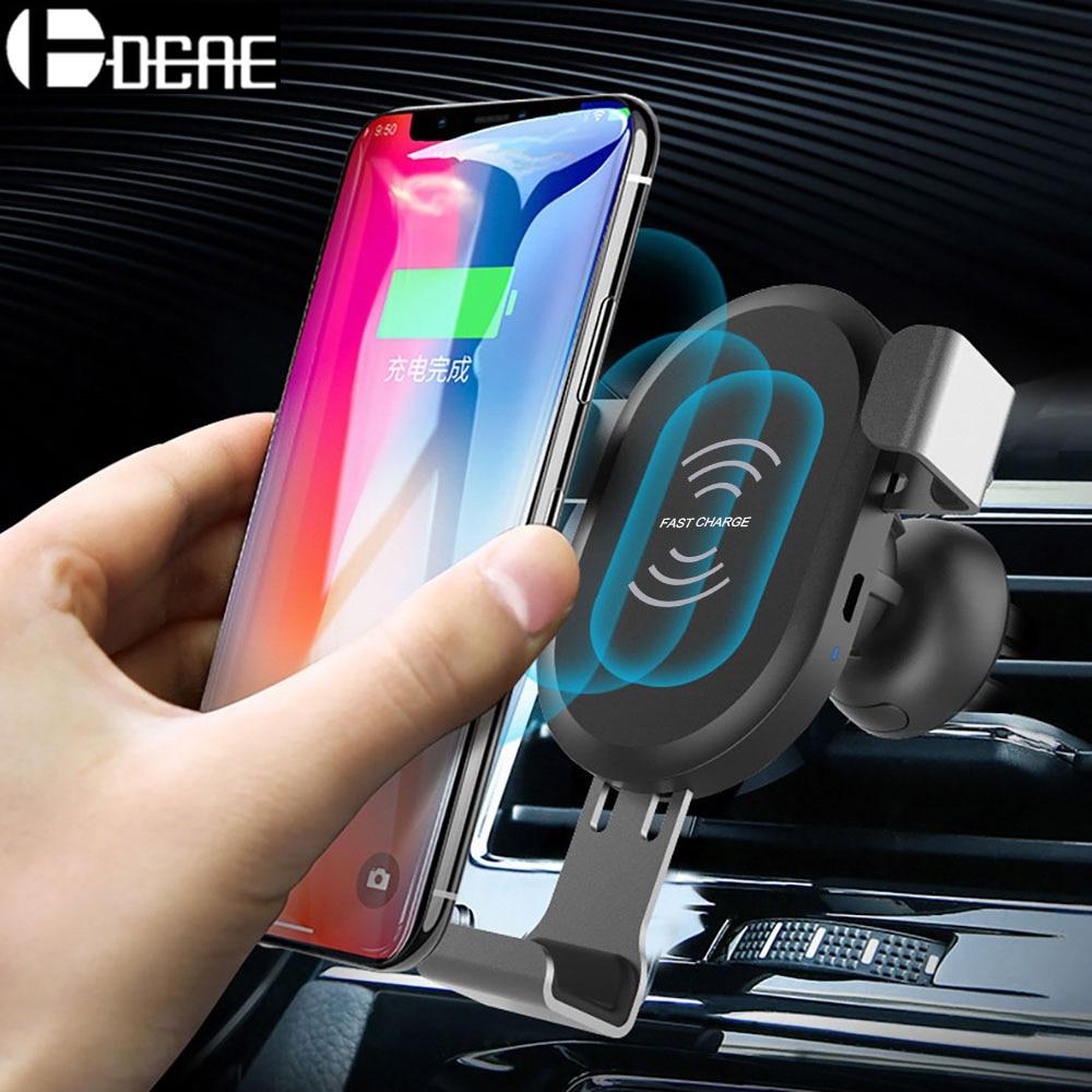 Cargador inalámbrico DCAE Fast Car para iPhone XS Max XR X 8 Plus - Accesorios y repuestos para celulares