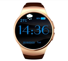 Smart Uhr Bluetooth Pulsmesser Smart Uhr Telefon 360*360 Vollbild 3G Sport Im Freien Smartwatch pk d5 x5 q1