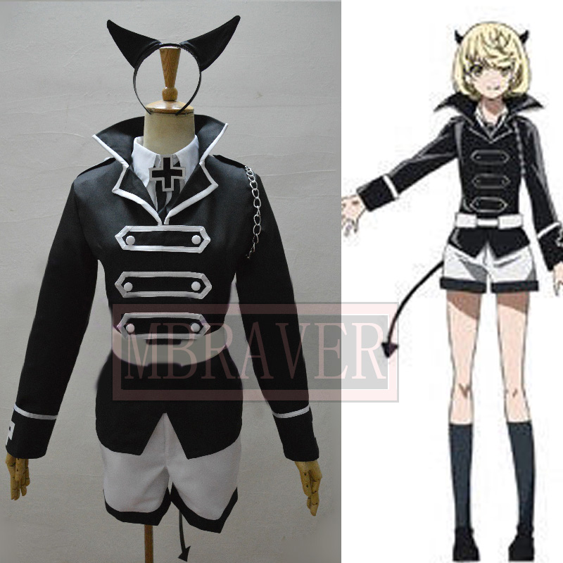 Custom Made Japan Anime Akame ga KILL Nyau Cosplay Costume