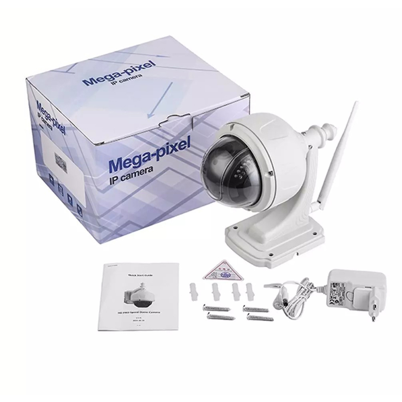 2.0MP 1080P Outdoor Waterdichte PTZ Camera 5X Optische Zoom IP Camera Two Way Audio Wifi Bewakingscamera Remote mobiele APP - 6
