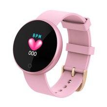 SKMEI Fashion Women Smart Digital Watch Female Period Reminder HeartRate Waterproof Watches Colories Step Beauty Wristwatch B36