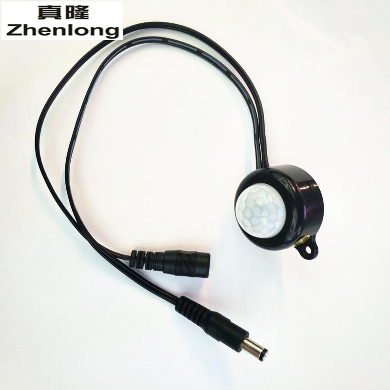 Zhenlong New Large Area Sensor DC5V-24V PIR Infrared Module Body Sensor Intelligent Light Motion Sensing Switch