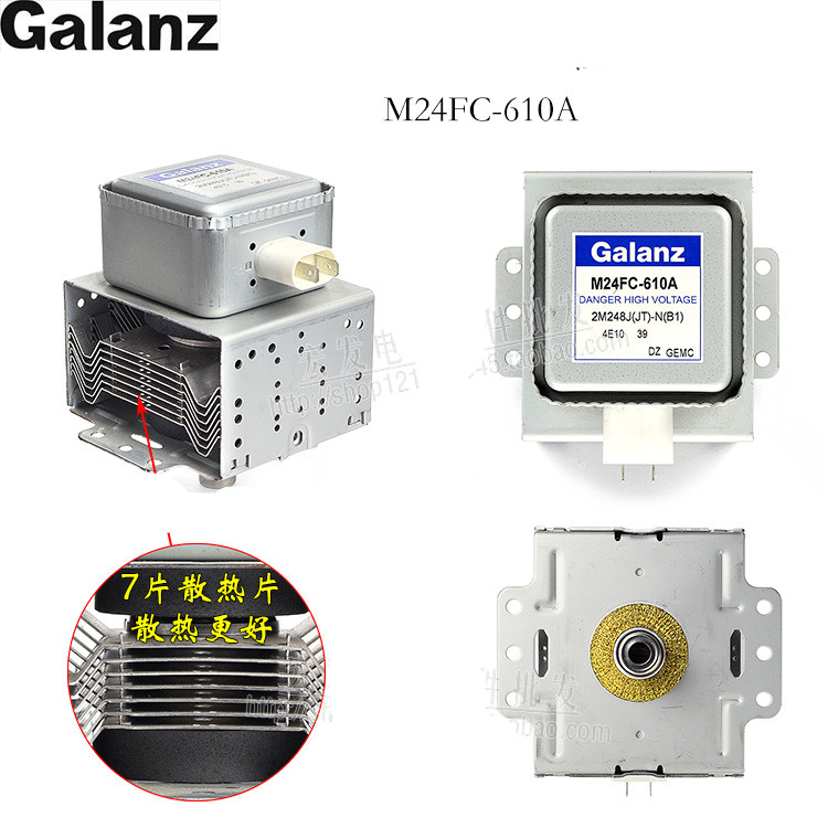 new Original M24fc-610A for Galanz Magnetron Microwave Oven Parts,Microwave Oven Magnetron Microwave oven spare parts