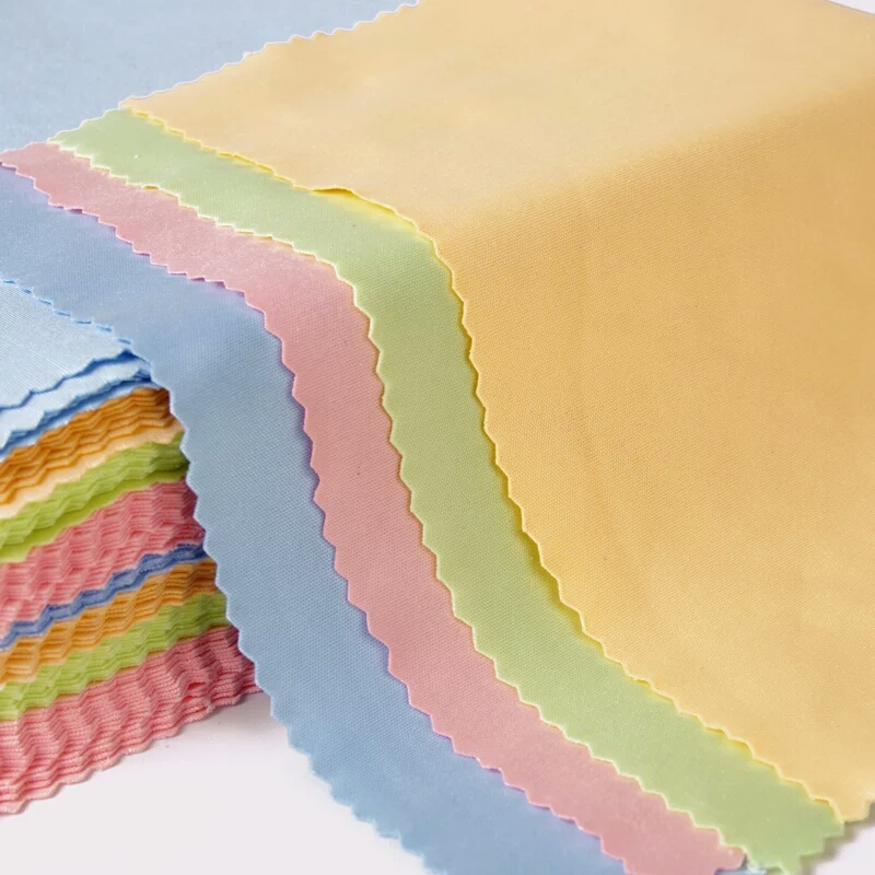 10pcs Multi Glasses Cleaning Cloth For Lens 15*18cm Microfiber Glasses Cleaner 4 Colors Lens Cloth Wipes For Camera Screen
