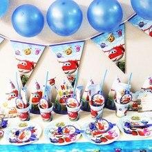 Мультфильм Супер Крылья 10 шт./лот салфетки одноразовые посуда Свадебные украшения на Рамадан принадлежности для детского душа