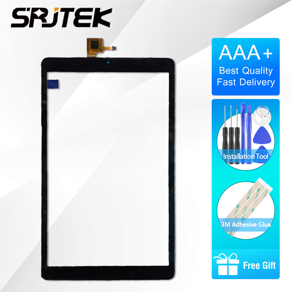 SRJTEK 10.1 Touch For ALCATEL ONETOUCH PIXI 3 (10) 3G 9010X 8080 8079 Tablet PC Screen Panel Digitizer Glass Senor Replacement 7 inch lcd matrix for alcatel one touch pixi 4 7 0 3g 9003x 9003a screen display tablet pc replacement parts alcatel 9003x