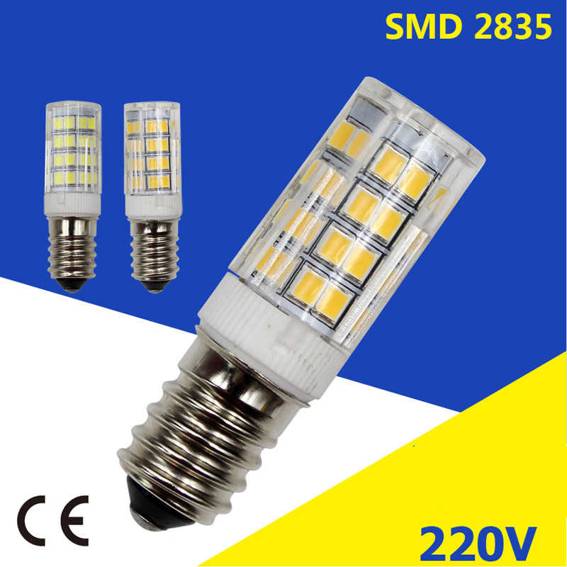 Super Bright E14 LED 5W 7W 9W 12W 15W AC 220V Crystal LED Bulb Spotlight for Chandelier High Power 2835 SMD Replace Halogen Lamp
