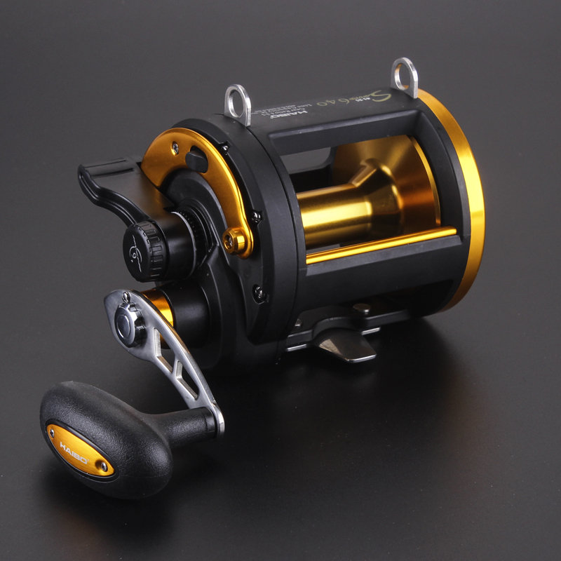 top quality poderoso jogo de pesca ao corrico carretel 6 rolamentos de esferas anilhas arraste carbono