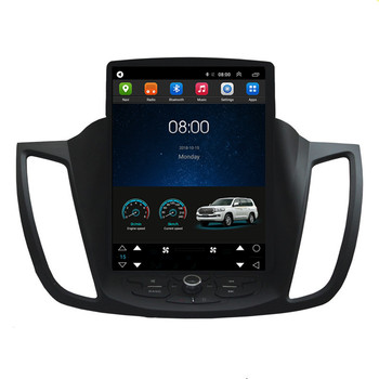 10.4 Tesla Vertical Screen Autoradio Android Car Radio Audio Sat Nav Head Unit for Ford Kuga 2013 2014 2015 2016 2017 2018 image