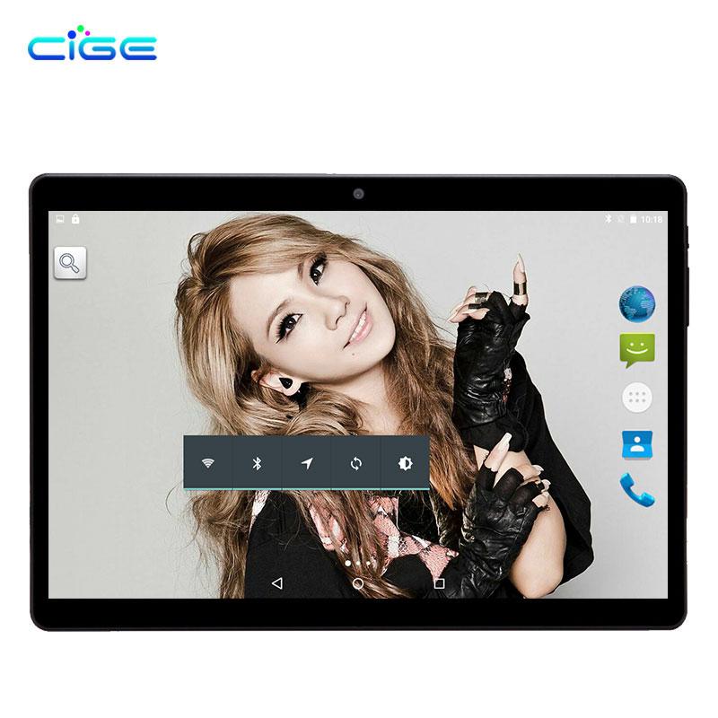 CIGE M9 Android 7.0 Tablet PC Tab 10.1 Inch IPS Octa Core 4GB 64GB Dual SIM Card Phone 10.1