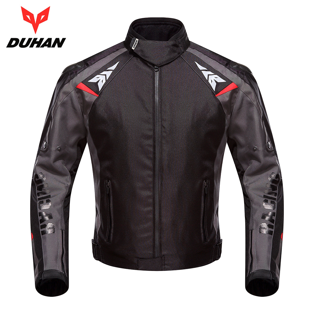 DUHAN Motorcycle Jacket Moto Autumn Winter Waterproof Cold-proof Biker Jacket Men Motorbike Riding Clothing Protective Gear duhan motorcycle jacket motorcycle pants suit autumn winter cold proof waterproof touring chaqueta moto protective gear