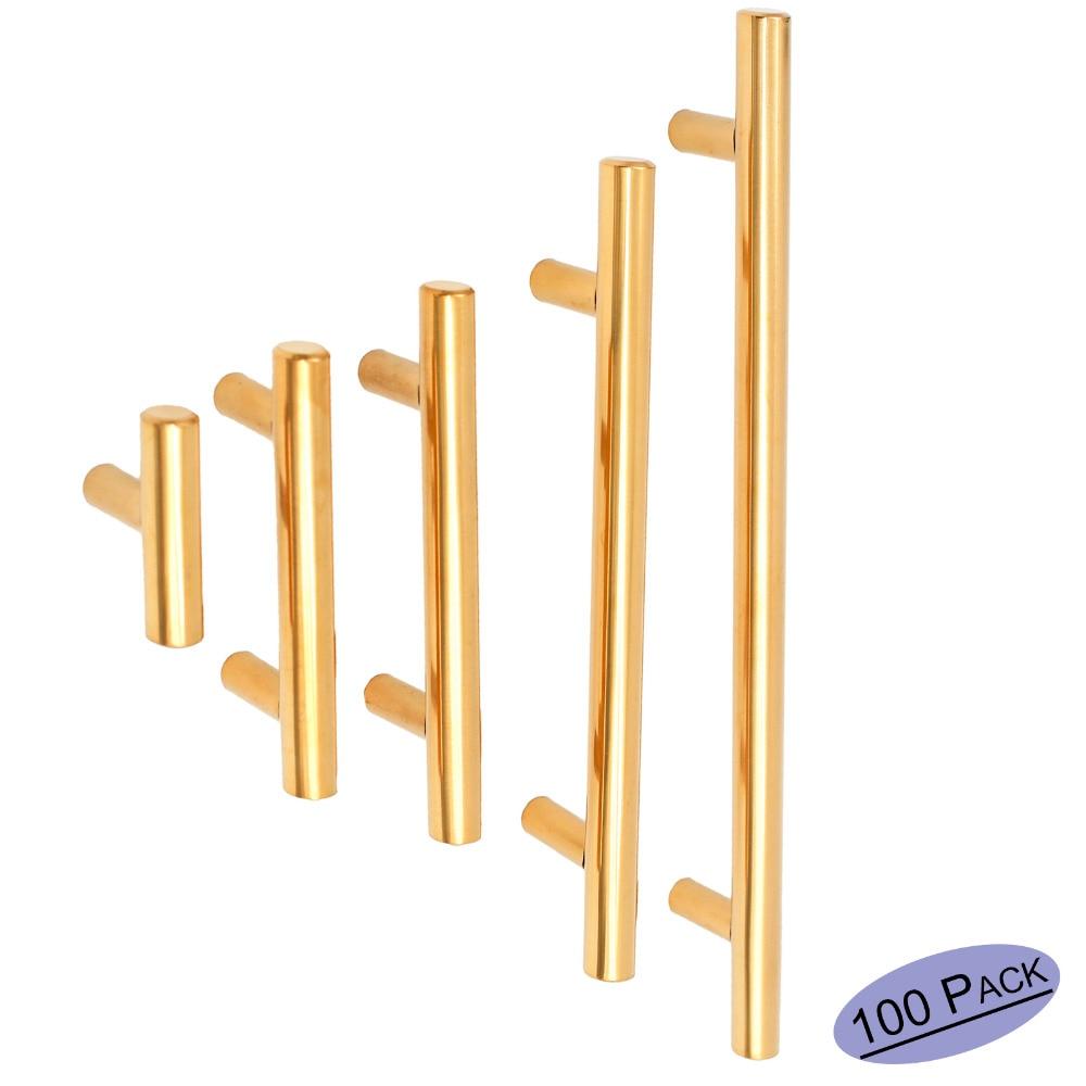 Kitchen Cabinet Hardware Location: Aliexpress.com : Buy Furniture Drawer Pulls Polished Brass